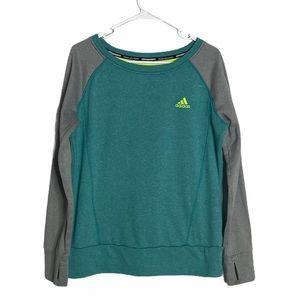 ADIDAS woman's sweatshirt size Large